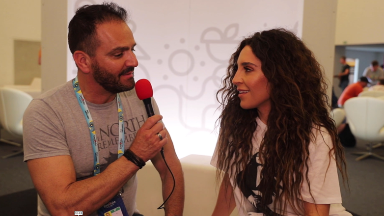 Sotiris meets Yianna Terzi (video interview)